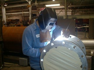 Asme section 9 certified welder completes tig welding for Mineral wool pipe insulation weight per foot